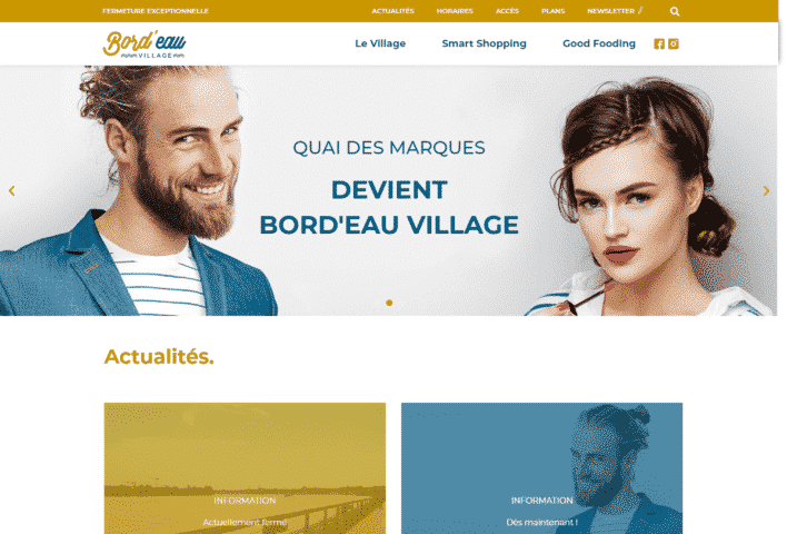création de site internet WordPress - MD Webdesigner