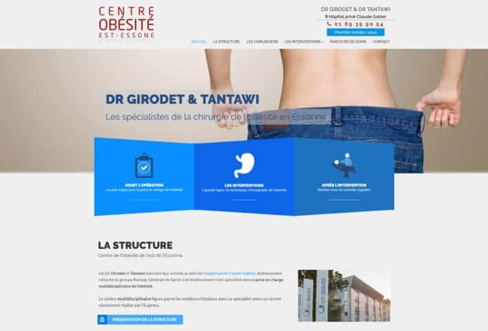 création site internet médical, WordPress - MD Webdesigner