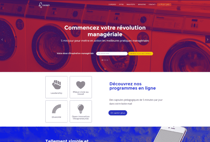 création site internet WordPress - MD Webdesigner