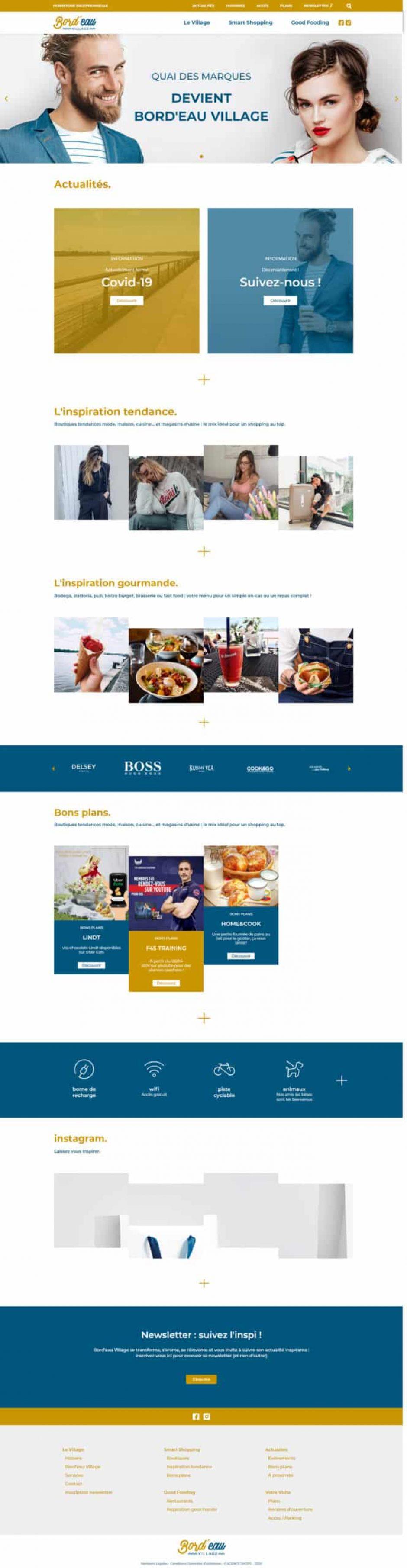 création de site internet WordPress - MD Webdesigner