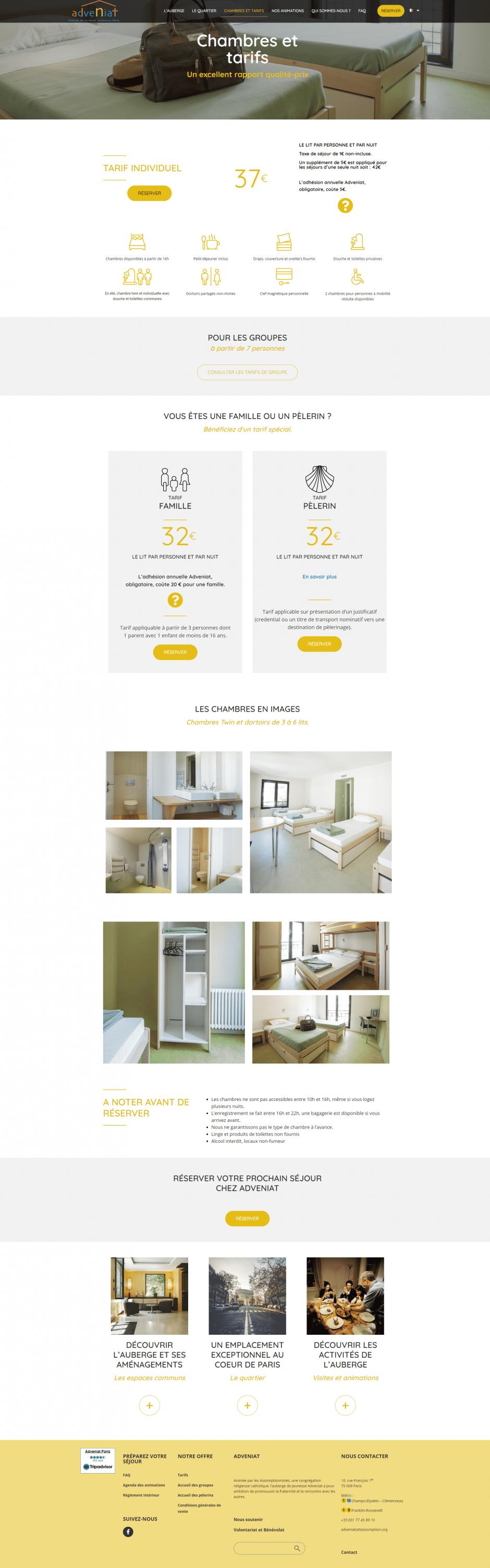 création thème WordPress site internet - MD Webdesigner