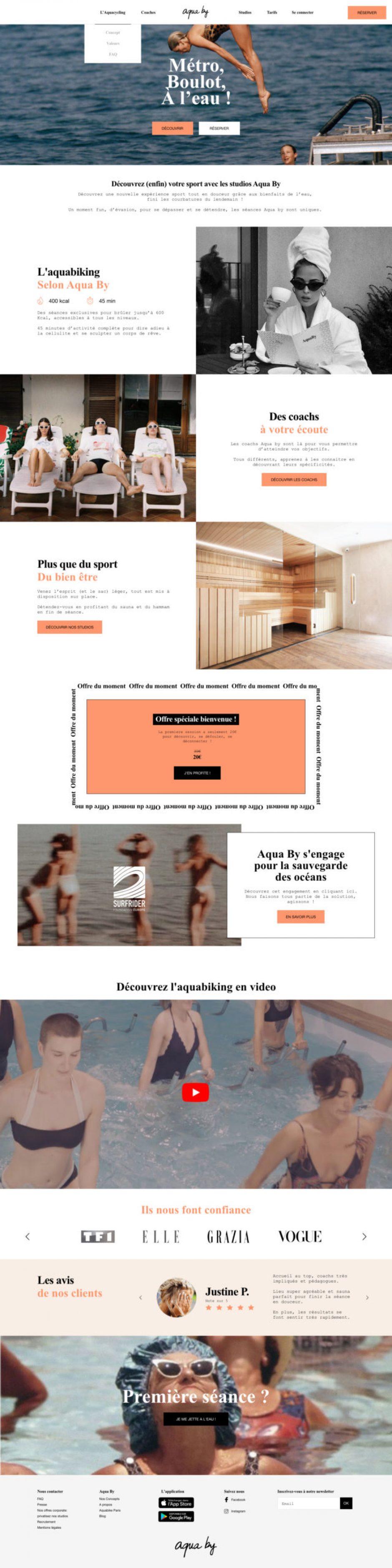 Création site internet WordPress - MD Webdesigner Paris