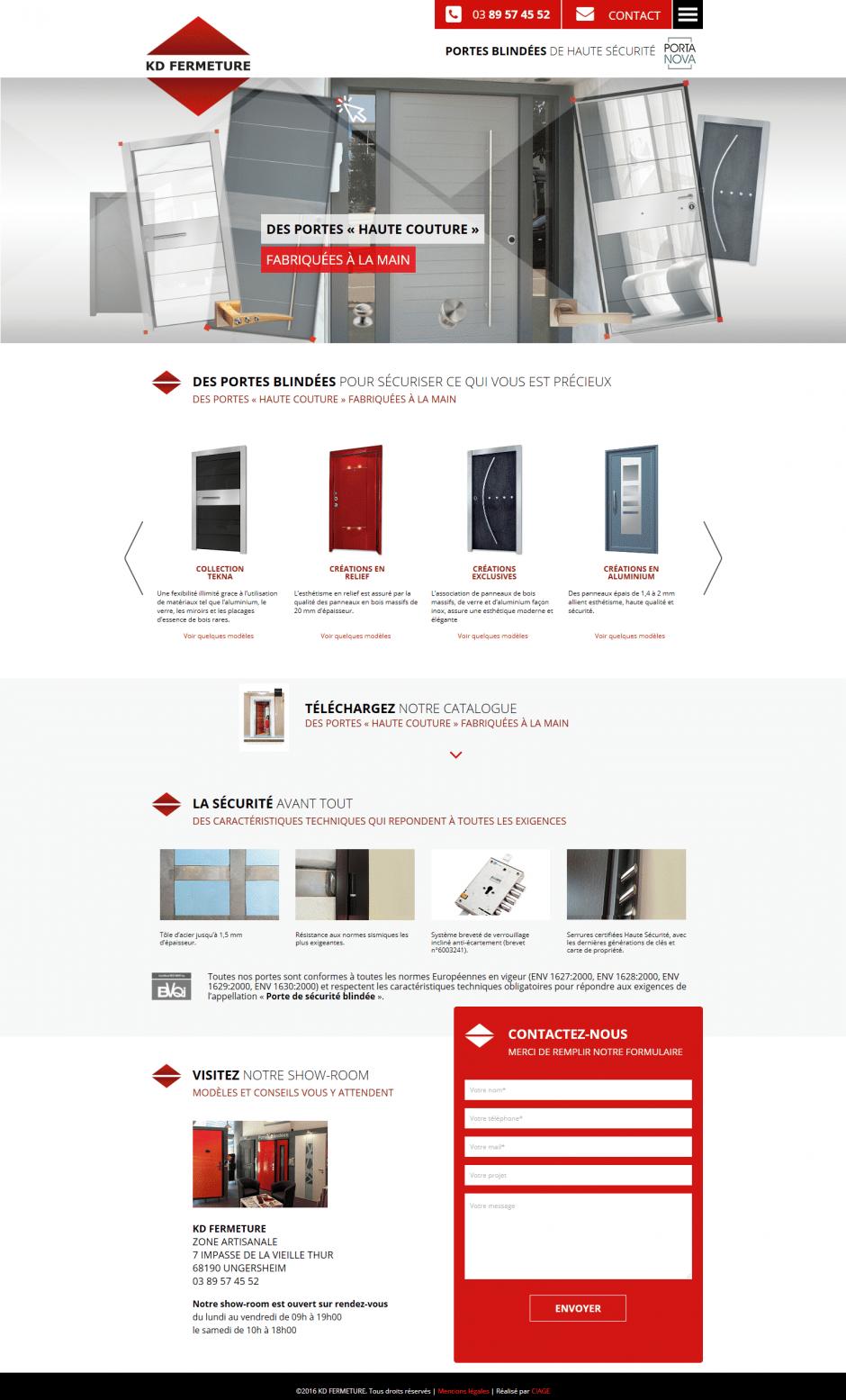 création de thème WordPress pour site internet - MD Webdesigner