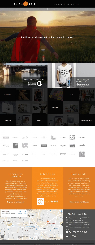 refonte site internet - MD Webdesigner