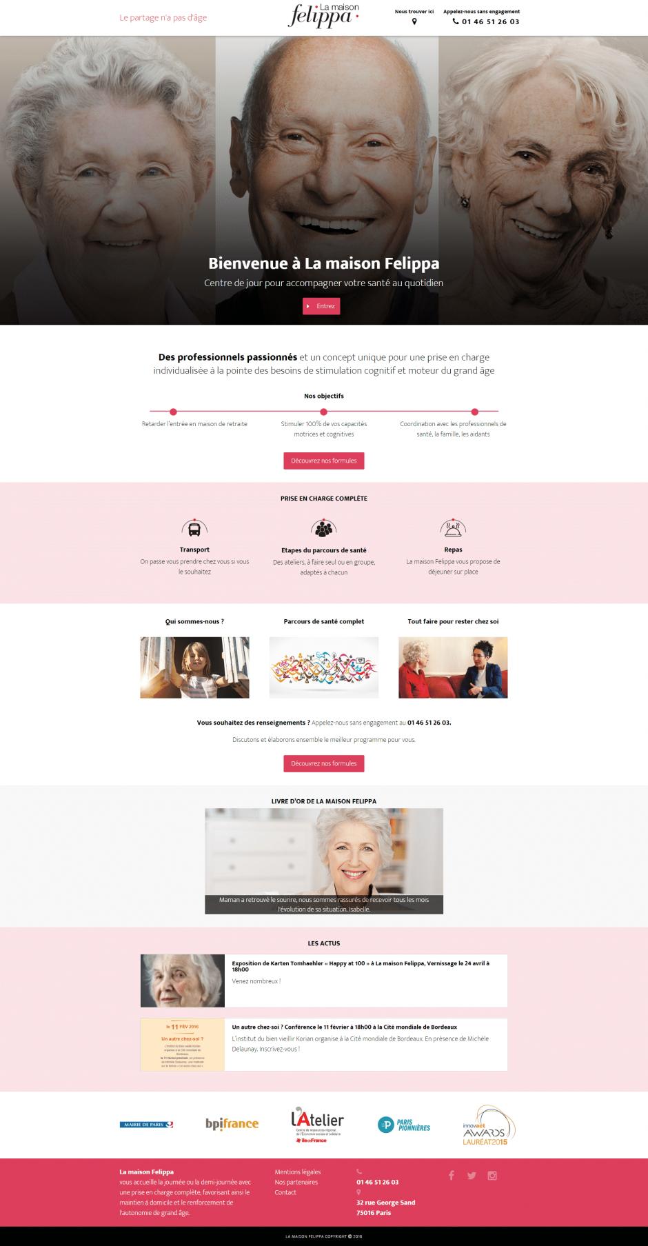 création site internet WordPress - MD Webdesigner